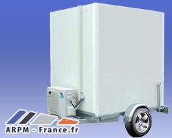 remorques frigorifiques sur-mesure