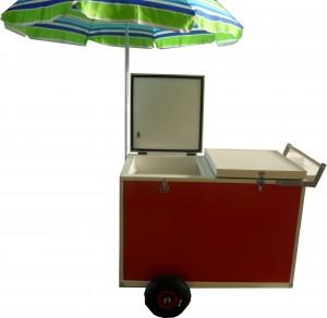 Chariot de vente ambulante